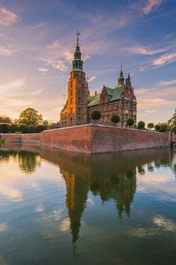 DEN0332AW Rosenborg Castle, Copenhagen, Hovedstaden, Denmark.