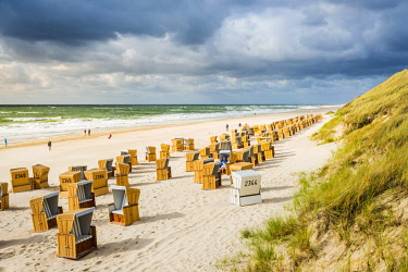 GER10173AW Wenningstedt-Braderup, Sylt island, North Frisia, Schleswig-Holstein, Germany.