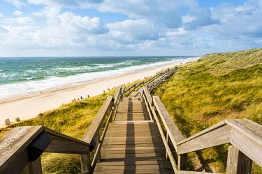 GER10176AW Wenningstedt-Braderup, Sylt island, North Frisia, Schleswig-Holstein, Germany.