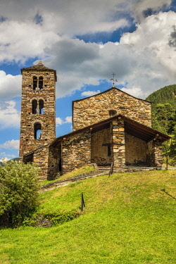 AND1026AW Sant Joan de Caselles church, Canillo, Andorra