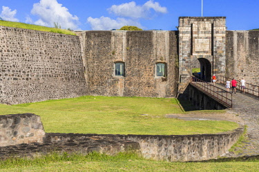 French West Indies, Guadeloupe, Basse Terre, strong Delgres formerly Fort Saint Charles (historical monument in 1977) was founded in the 17th century but was significantly modified in the 18th century...