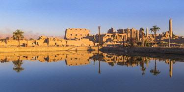 EG03458 Egypt, Luxor, Karnak Temple, Temple of Amun & Sacred Lake