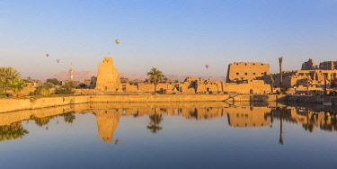 EG03461 Egypt, Luxor, Karnak Temple, Temple of Amun & Sacred Lake