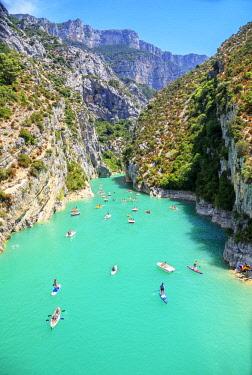 FRA10148AW Lake of St.Croix, Gorges du Verdon, Provence-Alpes-Cote d'Azur, Provence, France