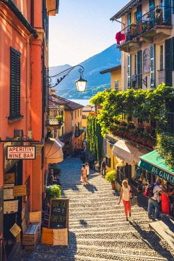 ITA11184AW Bellagio, lake Como,  Como district, Lombardy, Italy.
