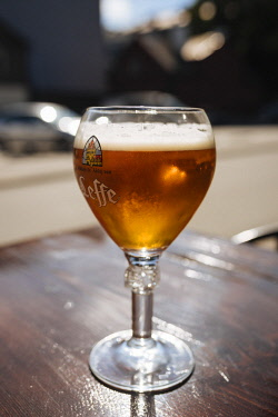 EST1240AW Leffe Beer, Old Town, Tallinn, Estonia, Europe