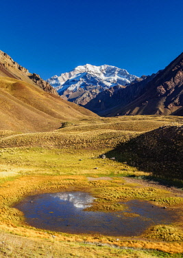 Aconcagua Mountain, Horcones Valley, Aconcagua Provincial Park, Central Andes, Mendoza Province, Argentina © AWL Images