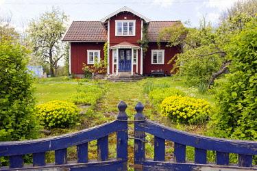 IBLSGA04150918 House on Lake Vanern, Mariestad, Sweden, Europe