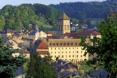 HMS2001676 France, Haute Vienne, Eymoutiers, church of Saint Etienne, parc naturel regional de Millevaches en Limousin, Vienne valley