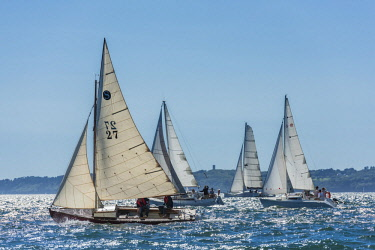 HMS2688950 France, Finistere, Brest, Brest 2016 International Maritime Festival, large gathering of traditional boats from around the world, every four years for a week