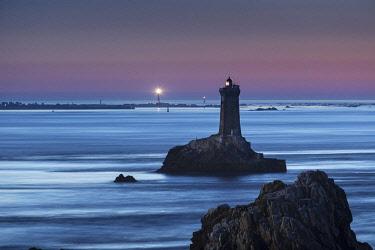 HMS3063688 France, Finistere, Iroise, Sizun point, Plogoff, Pointe du Raz, Pointe du Raz up to Sein lighthouses and beacons, Great National Site