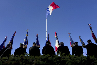 HMS2854797 France, Indre et Loire, Tours, Veteran during armistice day