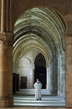 France, Marne, Reims, St Remi Basilica listed as World Heritage by UNESCO