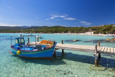 HMS2610131 France, Corsica, Corse du Sud, Porto Vecchio, Santa Giulia beach