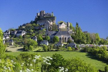 HMS2649620 France, Correze, Turenne, labelled Les Plus Beaux Villages de France