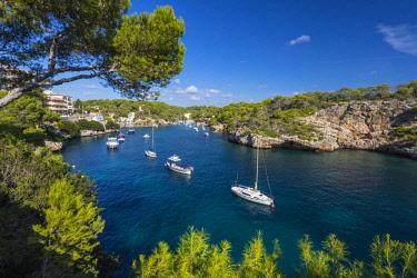 ES06199 Harbour of Cala Figuera, Mallorca (Majorca), Balearic Islands, Spain