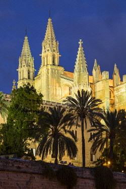 ES06211 Cathedral La Seu, Palma, Mallorca (Majorca), Balearic Islands, Spain