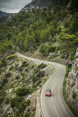 ES06337 Coastal road, Serra de Tramuntana, Mallorca (Majorca), Balearic Islands, Spain