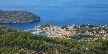 ES06354 Port de Soller, Serra de Tramuntana, Mallorca (Majorca), Balearic Islands, Spain