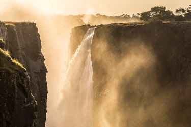 ZIM2542AW Victoria Falls, Zimbabwe, Africa.