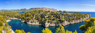 HMS2400863 France, Bouches du Rhone, Cassis, the Calanques National Park, the cove of Port Miou