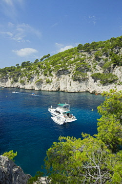HMS2478503 France, Bouches du Rhone, National Park Calanques, Marseille, creek of Port Pin