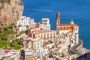 CLKAC69940 Atrani, Amalfi coast, Salerno, Campania, Italy. Atrani village