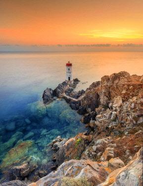 CLKMC69094 Capo Ferro Lighthouse, Porto Cervo, Sardinia, Italy