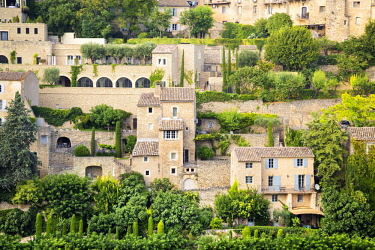 CLKST69198 The typical Gordes village, Provence, France