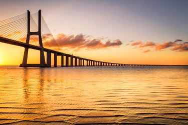 CLKST69312 The iconic Vasco da Gama Bridge, Lisbon, Portugal