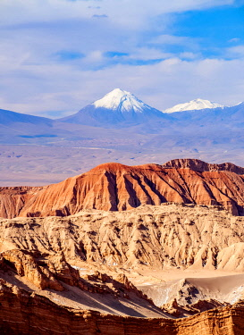 CHI10838AWRF Valle de la Luna, The Moon Valley near San Pedro de Atacama, Atacama Desert, Antofagasta Region, Chile