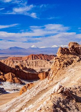 CHI10840AWRF Valle de la Luna, The Moon Valley near San Pedro de Atacama, Atacama Desert, Antofagasta Region, Chile