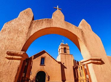 CHI10894AW Church in San Pedro de Atacama, Antofagasta Region, Chile