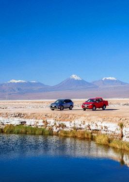 CHI10899AW Ojos del Salar Lagoon, Salar de Atacama nearby San Pedro de Atacama, Antofagasta Region, Chile