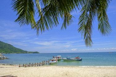 VIT1378AW Asia, South East Asia, Vietnam; Hoi An, Cham Island, a pristine beach on Cham Island in the Cu Lao Cham Marine Reserve - a Unesco Biosphere Reserve