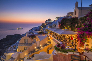 Oia, Santorini (Thira), Cyclades Islands, Greece