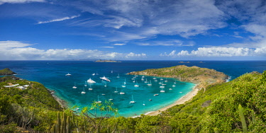 French West Indies, St-Barthelemy, Colombier, Anse de Colombier bay