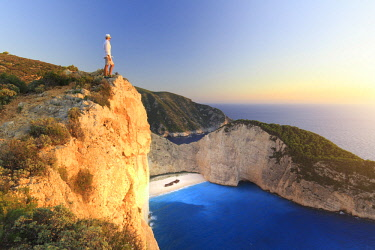 GR13074 Greece, Ionian Islands, Zakynthos, Navagio (shipwreck) beach
