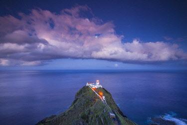 PT07270 Portugal, Azores, Santa Maria Island, Ponta do Castelo, Ponta do Castelo Lighthouse