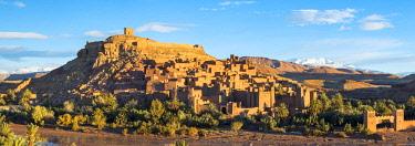 MOR2429AW Morocco, Sous-Massa (Sous-Massa-Draa), Ouarzazate Province. Ksar of Ait Ben Haddou (Ait Benhaddou).