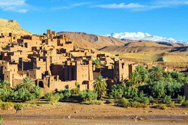 MOR2430AW Morocco, Sous-Massa (Sous-Massa-Draa), Ouarzazate Province. Ksar of Ait Ben Haddou (Ait Benhaddou).