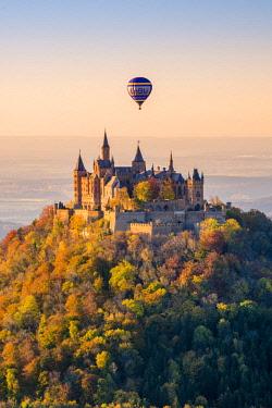 GER10447AW Hohenzollern Castle, Hechingen, Baden-Württemberg, Germany.