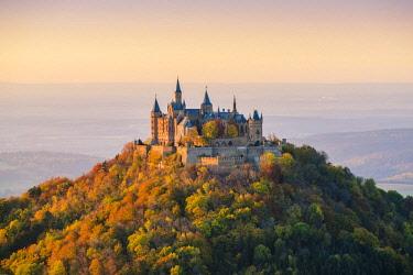 GER10451AW Hohenzollern Castle, Hechingen, Baden-Württemberg, Germany.