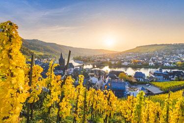 GER10482AW Bernkastel-Kues, Bernkastel-Wittlich district, Rhineland-Palatinate, Germany.