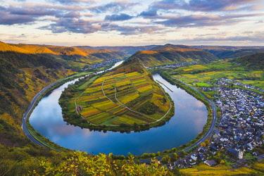 GER10506AW Bremm, Cochem-Zell district, Rhineland-Palatinate, Germany.