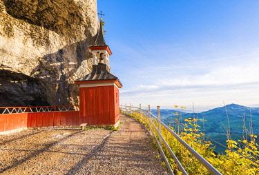 SWI8033AW Wildkirchli (Wild Chapel), Ebenalp, Appenzell Innerrhoden, Switzerland.