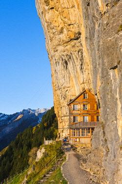 SWI8034AW Berggasthaus Aescher-Wildkirchli, Ebenalp, Appenzell Innerrhoden, Switzerland