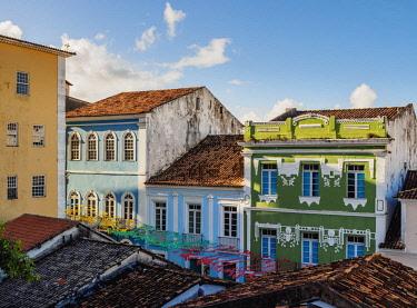 BRA3542AW Pelourinho, Old Town, Salvador, State of Bahia, Brazil