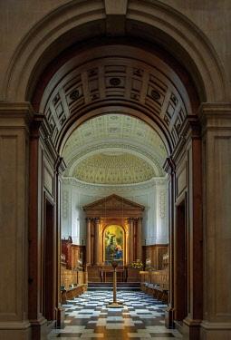 ENG15035AW Europe, United Kingdom, England, Cambridge, Cambridge University, Clare College chapel