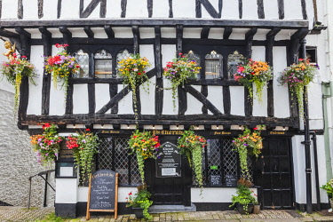 TPX60985 England, Devon, Dartmouth, The Cherub Pub